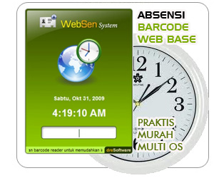 Aplikasi Web Absen Barcode Murah