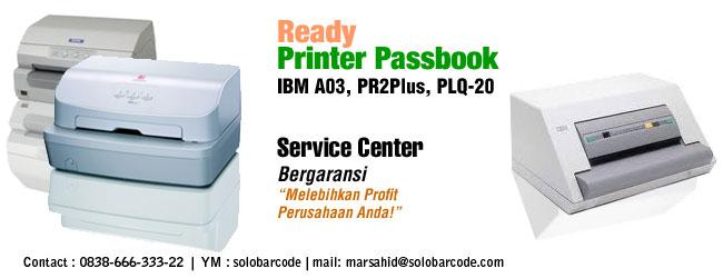 Service Printer Passbook