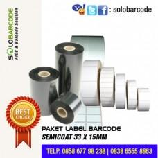 Paket Label & Ribbon Barcode
